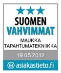 Maukka Tapahtumatekniikka Suomen Vahvimmat - äänentoisto-, valaistus-, video- ja kuvatekniikkalaitteiden sekä esiintymislavojen myynti ja vuokraus